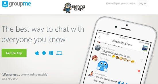 Groupme Social Media Apps