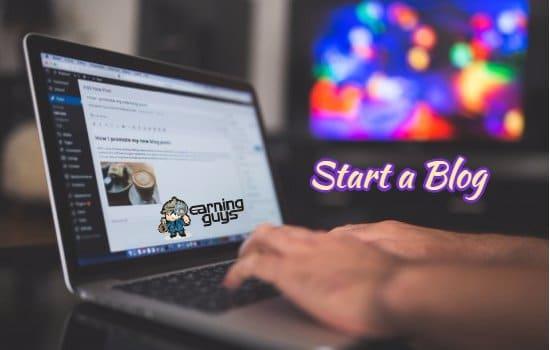 Start a Blog to Make Money Writing