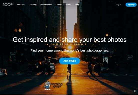 500px Image Hosting