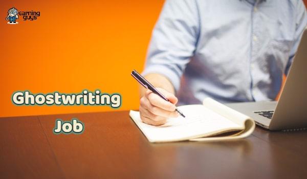 Ghostwriter Job