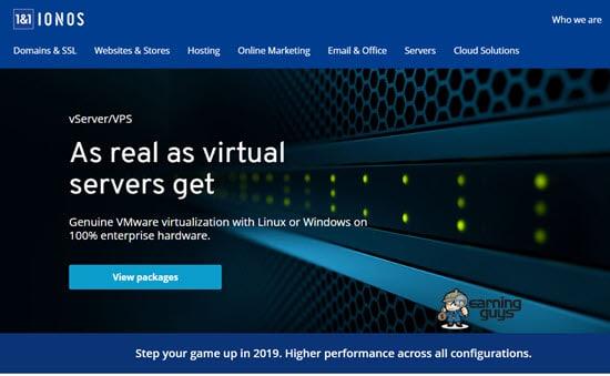 1&1 Windows VPS Hosting