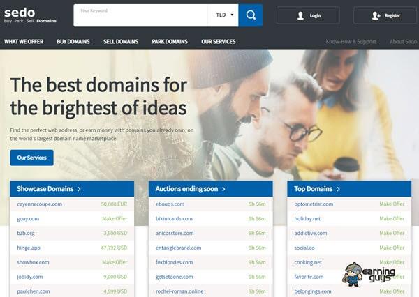 Sedo Domain Name Valuation