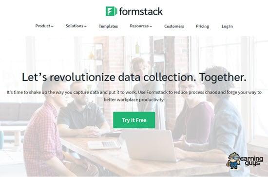 Formstack Form creator