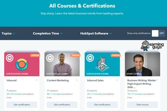 HubSpot SEO Courses