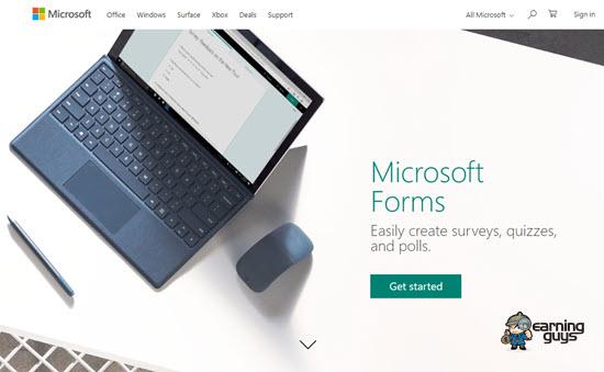 Microsoft Online Form Builder