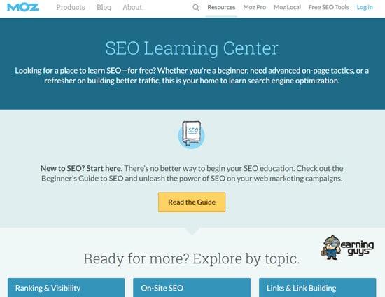 Moz SEO Learning Center