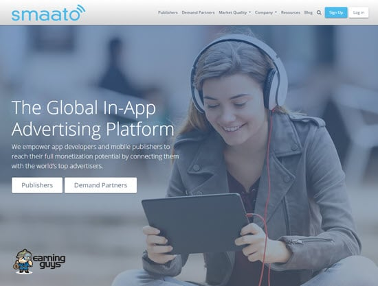 Smaato Interstitial Advertisment