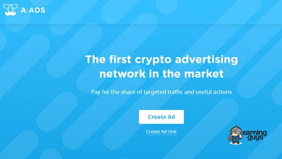 A-Ads Blockchain Advertising Network