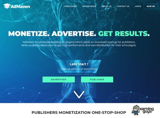 AdMaven CPM Ad Network