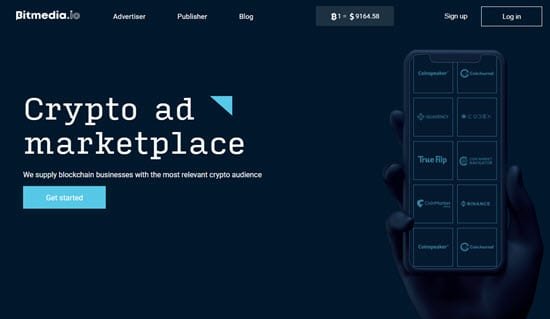 BitMedia Сrypto ad marketplace