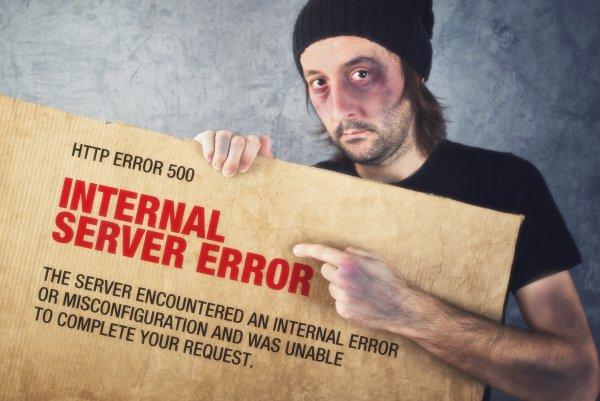 500 Internal Server Errors