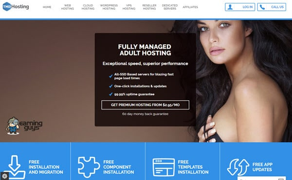 TMDHosting adult content web hosting