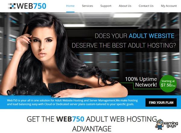 Web750 Porn Web Hosting