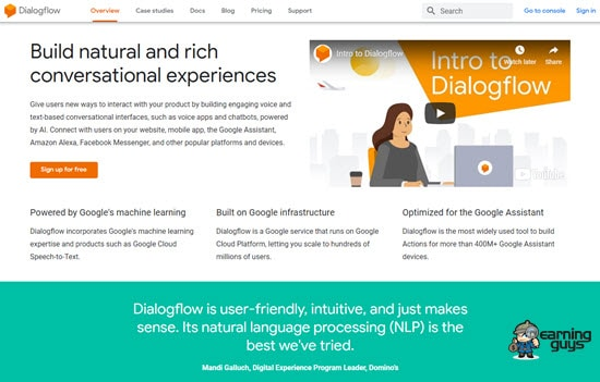 Dialogflow Chatbot