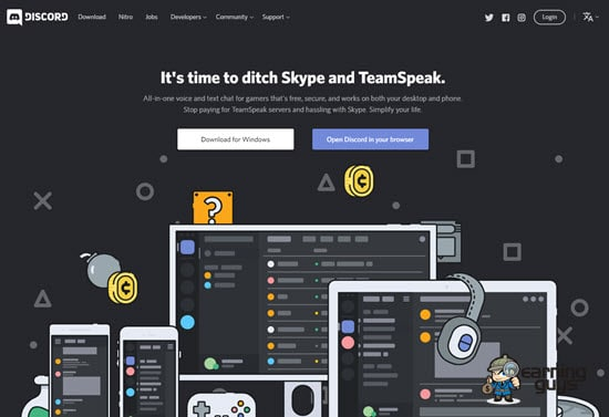 Discord Team Chat App