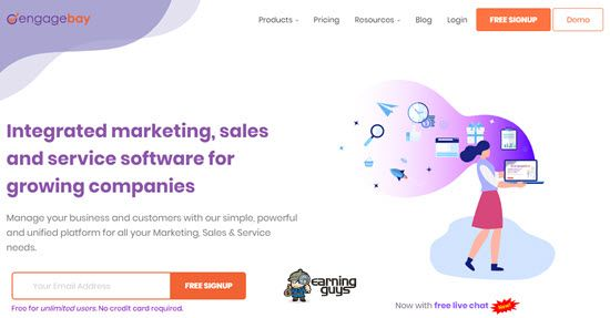 EngageBay Email Marketing
