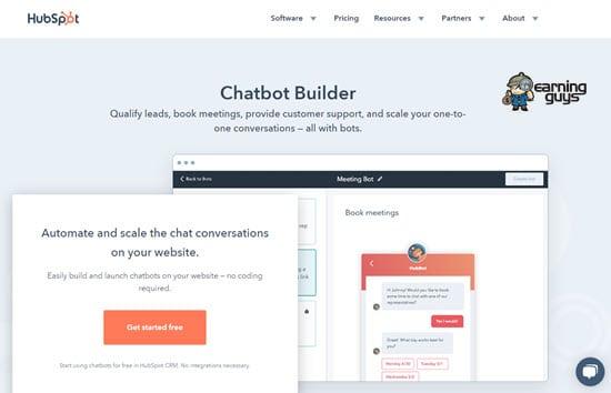 HubSpot Free Chatbot