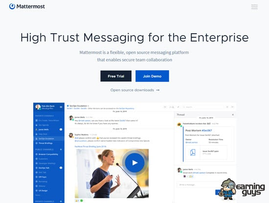 Mattermost Open Source Messaging Platform
