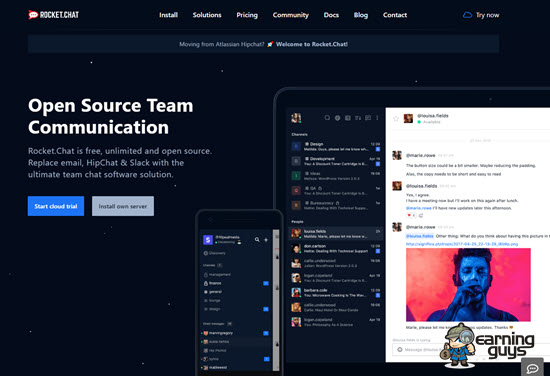 Rocket.Chat Team Communication