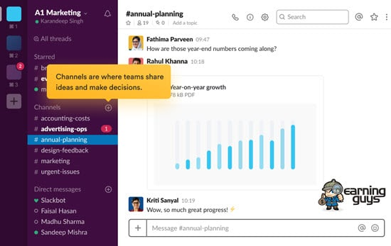 Slack Collaboration Software