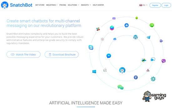 SnatchBot AI Chatbot