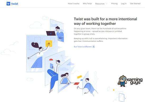 Twist Team Communication App