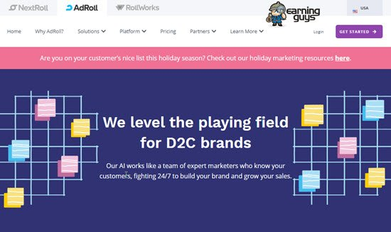 AdRoll PPC Advertising Network