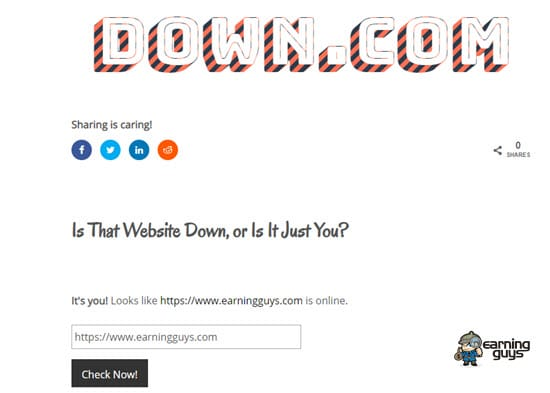 Down.com Is That Website Down