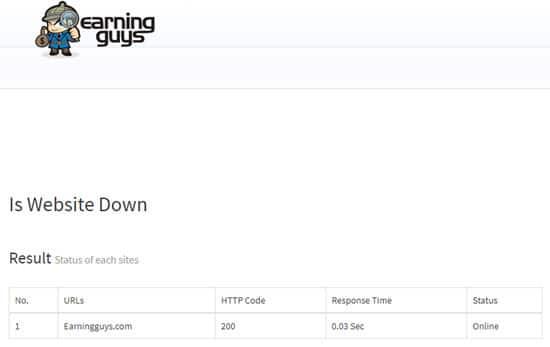 Is Website Down