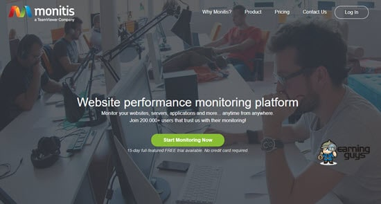 Monitis website downtime monitoring