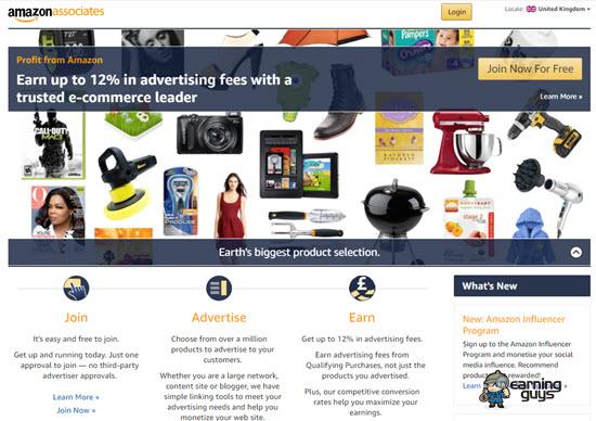 Amazon Associates UK