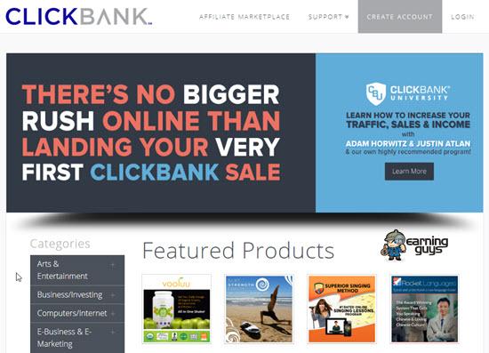 Clickbank Affiliate Networks UK