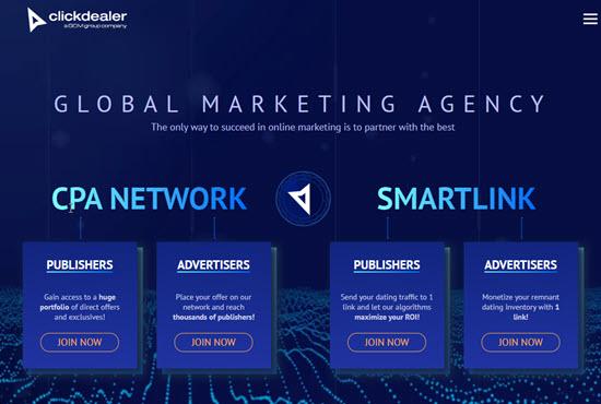 ClickDealer Affiliate Networks UK