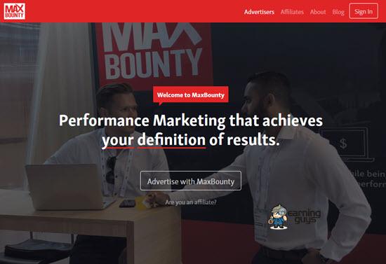 MaxBounty Affiliate Networks UK