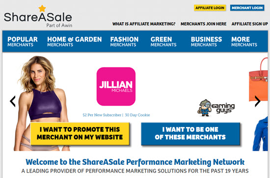 ShareASale Affiliate Networks UK