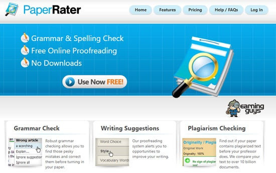 PaperRater Duplecate Checker
