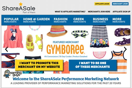 Shareasale Pay per Click Affiliate