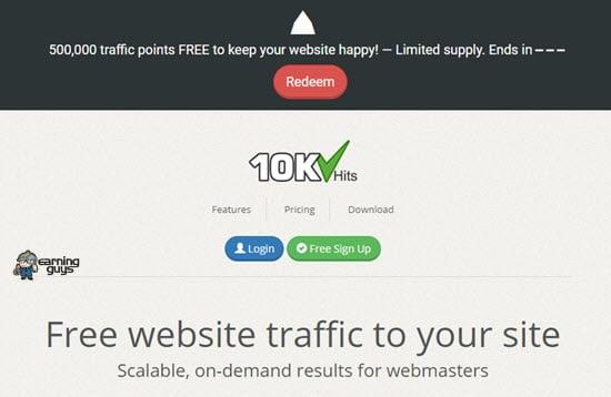 10KHits Web Traffic Generators