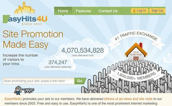 EasyHits4U Web Traffic Generators