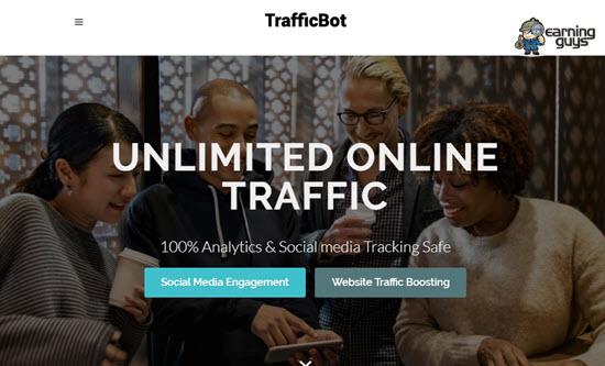 TrafficBot Web Traffic