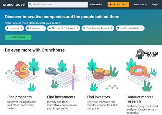 CrunchBase Companies Search