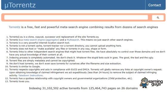 Torrentz2 Torrent Search