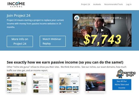 Income School Affiliate Course