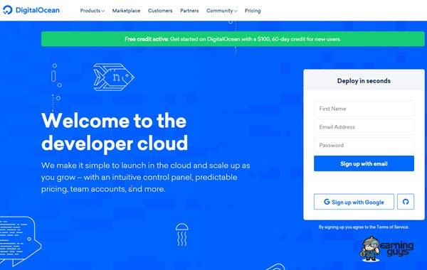Digital Ocean Cloud Hosting