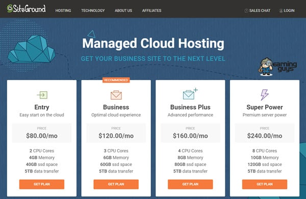 Siteground Cloud