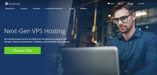 BlueHost Budget VPS Provider