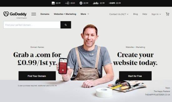 GoDaddy European Web Hosting