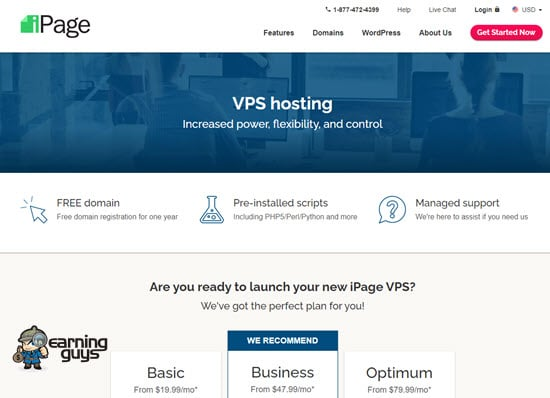 iPage VPS