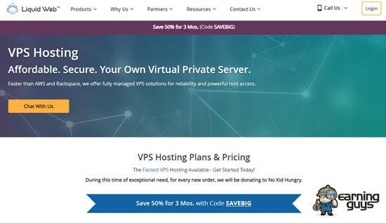 Liquidweb Virtual Private Server