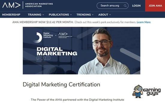 AMA Certification